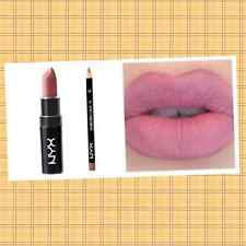 2 pc Sealed NYX Matte Lipstick Whipped Caviar & Lip Liner MAUVE Trending look