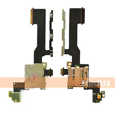 SD Holder Slot Sim Card Reader + Power Volume Button Flex Cable For HTC One M9