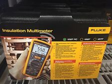 Fluke 1587 FC    2-in-1 Insulation Multimeter (With Wi-Fi) New - List price $799
