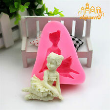3D Angel Girl Liquid Silicone Mould Silicone Mold DIY Cake Molds Baking Die DIY