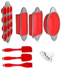 Silicone Baking Pans and Utensils Home Baking Cooking Needs Equipments Supplies