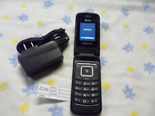 Samsung SGH-A157 - Black AT&T Unlocked GSM Cellular Flip 3G Phone Worldide #2196