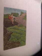 ANTIQUE POSTCARD  SCENIC GRANDFATHER MOUNTAIN ON THE BLUE RIDGE PARKWAY LINVILLE