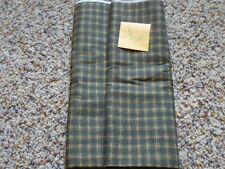 1 3/4  YDs Quilt Sewing Fabric Olive green Plaid Yellow BITTERSWEET and BOO MODA