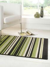 Modern Striped Rug - Runner, Red Green Purple Grey Beige in Various size Carpet