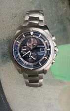 Citizen Eco-Drive Titanium Chronograph Men's Watch (B612-S094755) Box + Links