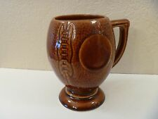 VINTAGE FOOTBALL CERAMIC/PORCELAIN LARGE COFFEE MUG/CUP - MADE IN USA