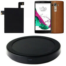 For LG G4 Qi Wireless Charger Charging Pad + Qi Receiver Sticker With NFC LG G4