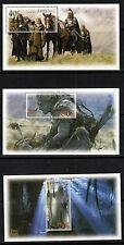 "NZ, 2002 Lord Of The Rings 2nd Issue"" Set of 6 Miniature Sheets. Never H Mint"