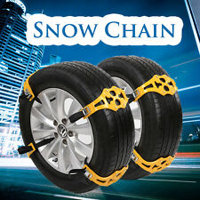 4Pcs Easy Installation Simple Winter Truck Car Snow Tire Chain Anti-skid Belt