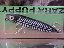 Heddon Zara PUPPY Walk the Dog Topwater Lure X9225XBW -BLK SHORE MINNOW for BASS