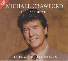 MICHAEL CRAWFORD - ALL I ASK OF YOU. 48 Classic Recordings (3xCD BOX SET 2005)
