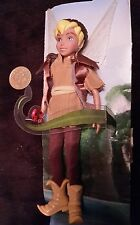"Rare Disney Store Tinker Bell Boyfriend Terence Tinkerbell Doll Fairy 5"" New"