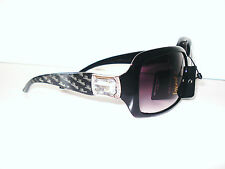 LADIES Giselle Sunglasses Rhinestones Designer Stylish WOMEN DG-GSLB Black
