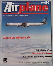Airplane Issue 84 Dassault Mirage IV Cutaway & Poster, Nakajima Ki-84 Hayate
