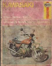 KAWASAKI Z1,Z1A,Z1B,Z900 A4,Z1000 A1 HAYNES WORKSHOP MANUAL 1972-1977