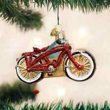 *Cruiser Bike* Bicycle [46063] Old World Christmas Glass Ornament - NEW