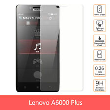 Premium Branded Clear Tempered Glass Screen Protector for Lenovo A6000 Plus
