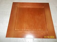 "SHAKER CHERRY STAINED MAPLE CABINET DOOR, 17 1/2"" X 22 3/4"", NEW"