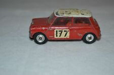 Corgi Toys 339 - Monte Carlo Ralley Mini - Red/White