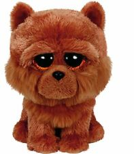 Ty Barley the Brown Puppy Dog Beanie Boos Stuffed Plush Animal Toy