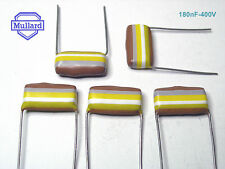 10 x Mullard Tropical Fish Capacitors 180nF - 400V  / x 10 Pieces