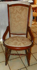 Victorian Walnut Hip Hugger Sewing / Nursing Rocker / Rocking Chair  (R227)