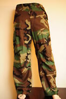 US Army M65 Genuine  Trousers. Woodland Camo Size Medium  Long .
