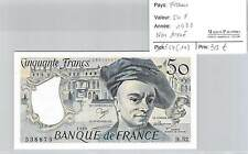 BILLET 50 FRANCS - QUENTIN DE LA TOUR - 1988 - NON TROUE!!!!!