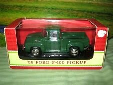 1956 Ford F-100 Pickup Green Sunnyside Die-Cast 1/24 Scale 2002