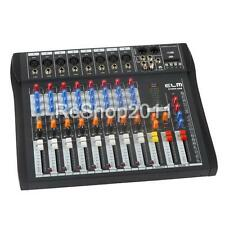 CT80S-USB 8 Channel Live Studio Audio Mixer Mixing Console Phantom Power US