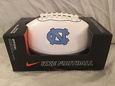 Nike North Carolina Tar Heels (UNC) 12'' Official NCAA Autograph Football