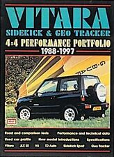 Vitara, Sidekick & Geo Tracker 4x4 Performance Portfolio 1988-97