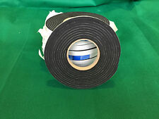 5 Metres Long, 15mm x 4.5/5mm Self Adhesive Backed Neoprene/EP Sponge Strip
