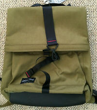 Sons of Trade Mens Womens Pioneer Roll-top Canvas Backpack Moss PIBPCO-608-00