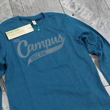 United Colors Of Benetton Kinder T-Shirt Gr. 100 cm Pullover Langarm Blau D173