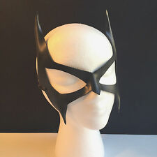 Catwoman Mask Batgirl Mask Batman Black Superhero Halloween CosPlay Comicon LARP