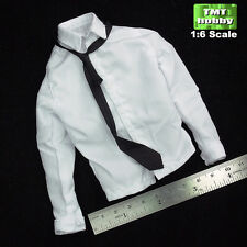 1:6 Scale DID WWII German Hans D80080 French 1943 - White Shirt w/ Tie