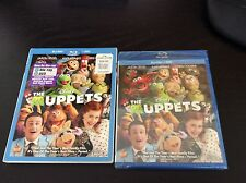 BRAND NEW WALT DISNEY THE MUPPETS MOVIE DVD + BLU RAY  2 DISC SET 2012