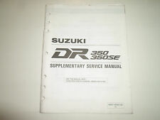 1997 Suzuki DR350 350SE Supplementary Service Manual 99501-43060-03E FACTORY x