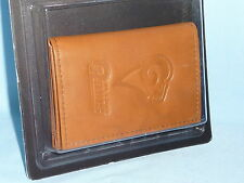 St. Louis (now LOS ANGELES) RAMS  Leather TriFold Wallet   NIP  by Rico  brown 2