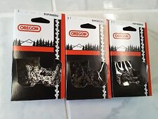 """3  91PX055G Oregon chainsaw saw chain 16"""" 3/8 LP .050  S55 replaces 63PM1 55"""