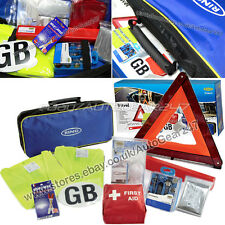 Approved European Euro Continental Driving Abroad Legal Travel Kit in Carry Bag