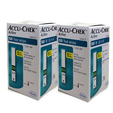 ACCU CHEK Active 100 Test Strips (100Sheets) Tracking number, Expiration:10/2017
