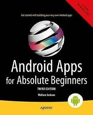 Android Apps for Absolute Beginners, Jackson, Wallace, New Condition