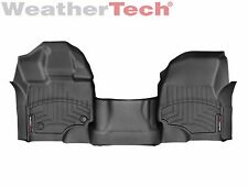 WeatherTech FloorLiner for Ford F-150 - 2015-2017 - 1st Row OTH - Black