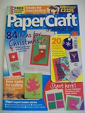 Magazine. The Card Maker's favourite! Paper Craft Inspirations. Issue 28 Dec '06