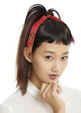 Harry Potter Gryffindor Cosplay Hair Pony Tail Tie Cheer Bow New With Tags!