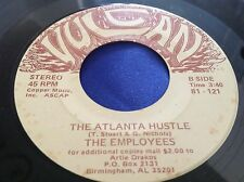 Hear Rare Funk Soul Boogie 45 : The Employees ~ The Atlanta Hustle ~ Vulcan 121