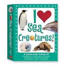 I Love Sea Creatures!: A Splash-tastic Activity Kit (I Love Kits)